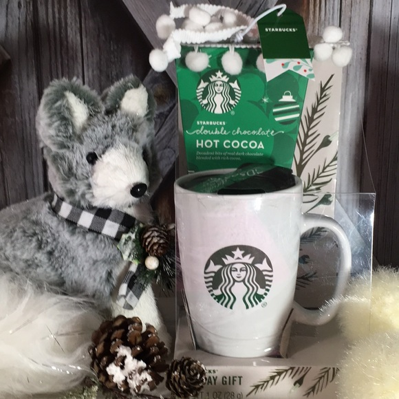 NWT STARBUCKS Travel Mug Gift Set